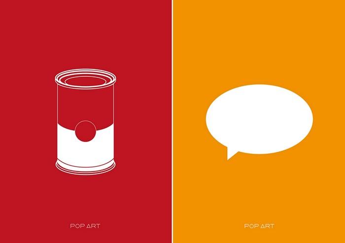 Поп-арт, интерпретация Outmane Amahou