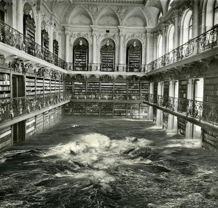 Precipitates. Тайфуны, ледоход и наводнение в старинных зданиях музеев.
