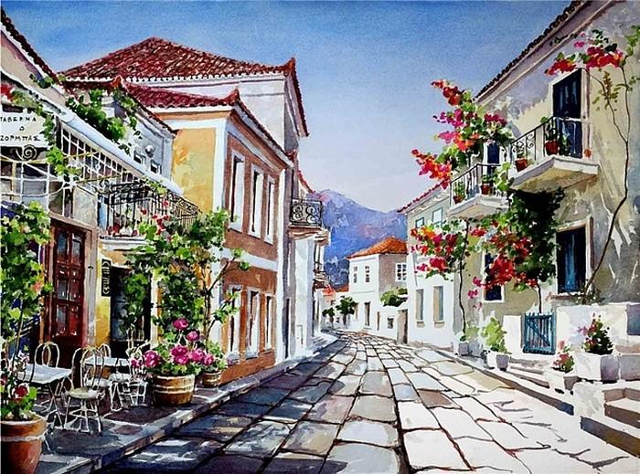 греческая живопись: