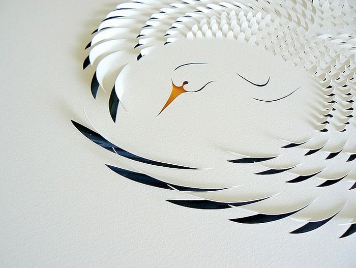 �������������� paper art �� ���� ������