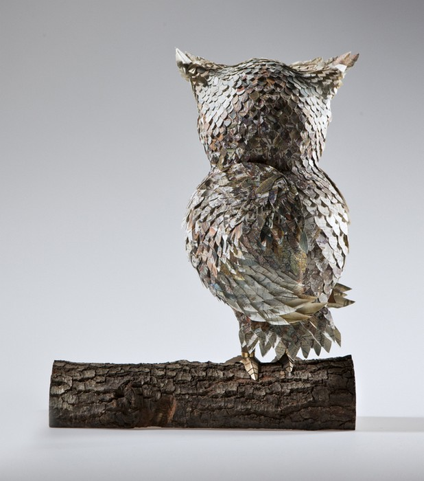Скульптуры птиц из бумаги от The Makerie Studio