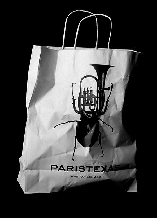Насекомые и музыка в креативных логотипах для ParisTexas