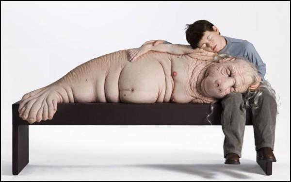 Свои и Чужие в гиперреалистичных скульптурах Патриции Пиччинини (Patricia Piccinini)