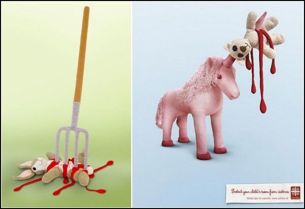 Violence Toys, игрушки не для детей