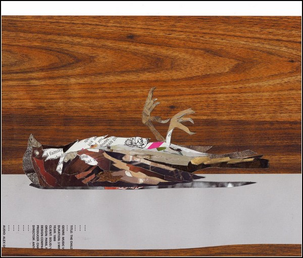 Рисование обрывками газет и журналов. Картины Патрика Бремера (Patrick Bremer)