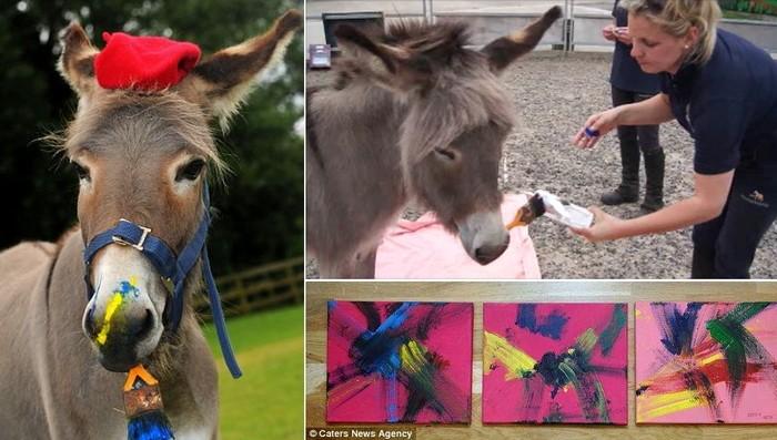 Художница Пэтти, знаменитость бристольского HorseWorld Visitor Center