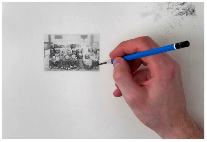 Из фотографии в рисунок. Фотореалистичные миниатюры Пола Кьяппе (Paul Chiappe)