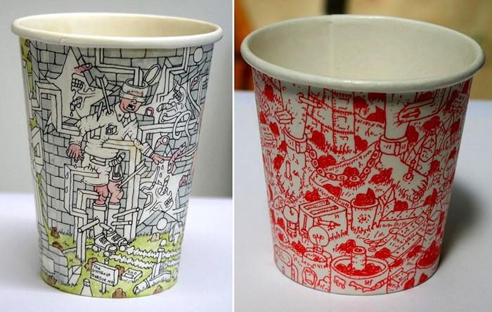 ������ Coffee Cups ���� ���������, ������� �� ����������� �����������