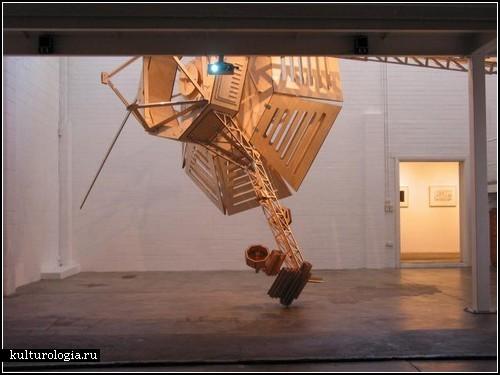 Деревянные скульптуры Питера Хеннесси (Peter Hennessey)