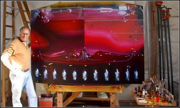 Ультрареалистичные картины Питера Майера (Peter Maier), нарисованные яичной темперой