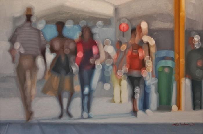 Размытые картины Филиппа Барлоу (Philip Barlow)