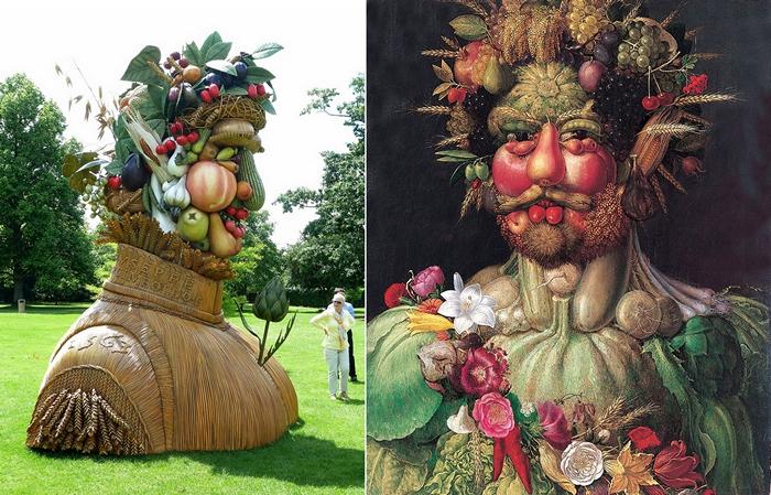 Воплощение Времен года в скульптурах Филиппа Хааса (Philip Haas) The Four Seasons