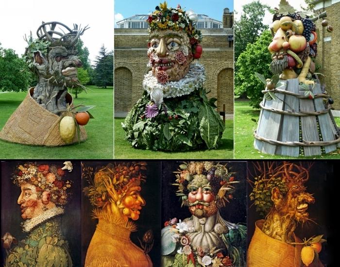 По стопам Джузеппе Арчимбольдо. Скульптуры Филиппа Хааса (Philip Haas) из серии The Four Seasons