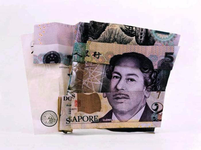 Портреты из валюты разных стран. Арт-проект The Magnificent Seven