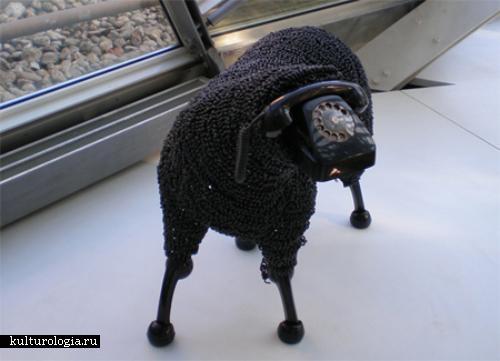 Телефонные овцы Жана-Люка Корнека (Jean Luc Cornec)