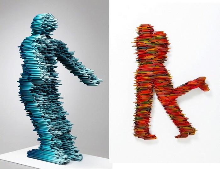 Disguise, *скоростные* скульптуры от Kang Duck-Bong