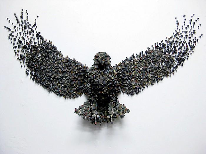 Восьмибитные  скульптуры животных Шона Смита (Shawn Smith)