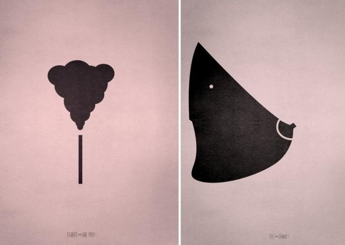 Угадай, что? Игровой арт-проект Point of View от Фабио Д'Алтилья