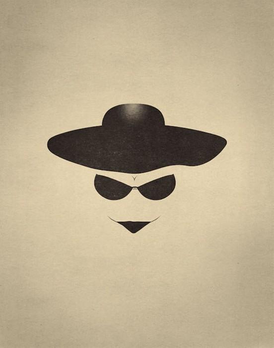 Человек в шляпе, или женщина? Игровой арт-проект Point of View от Фабио Д'Алтилья