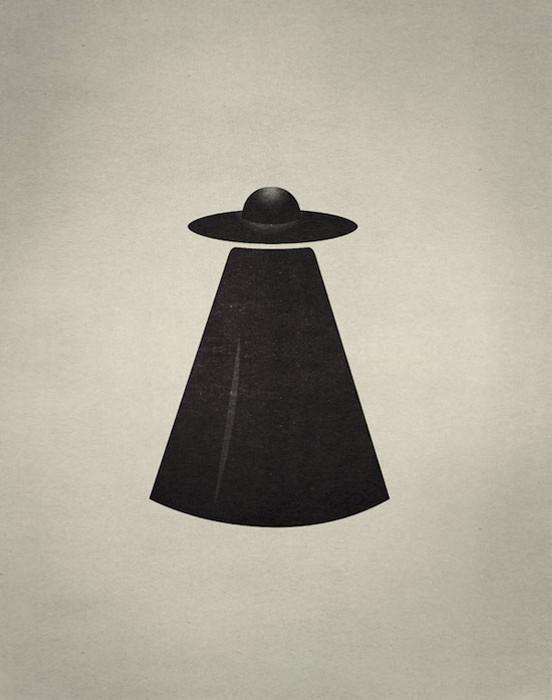 НЛО или человек в плаще? Игровой арт-проект Point of View от Фабио Д'Алтилья