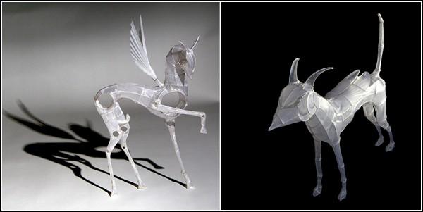 Бумажно-проволочный зверинец от Полли Верити (Polly Verity)