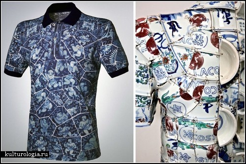 Арт-проект от Li Xiaofeng. Керамическая одежда