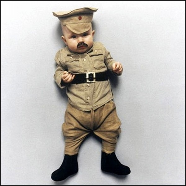 Маленький Иосиф Сталин