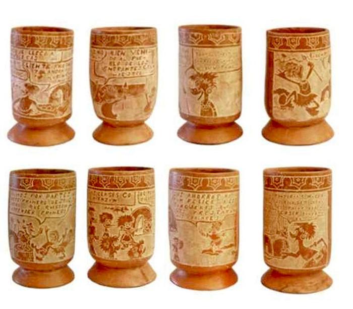 Pre-Columbian Cartoons: *доколумбовые* скульптуры из мира Диснея