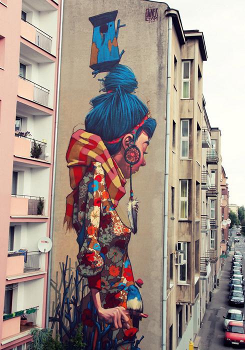 Мрачные, но прекрасные граффити Пржемека Блейжика (Przemek Blejzyk)