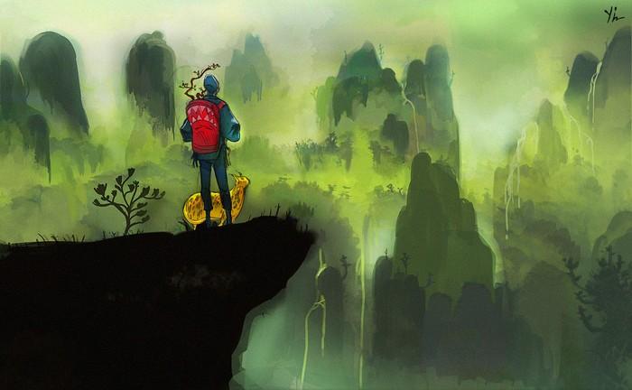 Удивительные картины Кьяна Йи (Qian Yi)