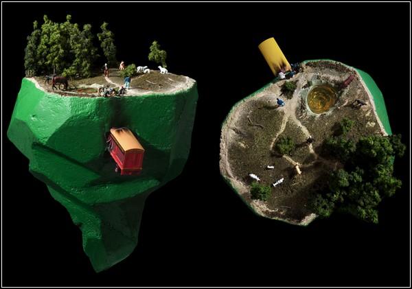 Острова-планеты. Инсталляция Islands от Rainbowmonkey