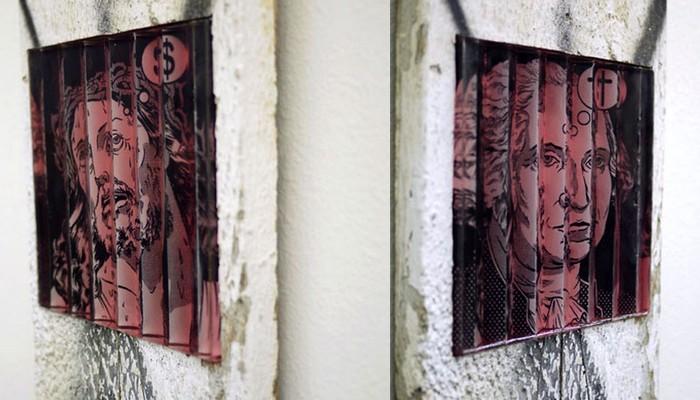 Две точки зрения в картинах-иллюзиях Рэнди Ноборикава (Randy Noborikawa)