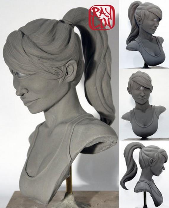 Скульптура несравненной Туранги Лилы