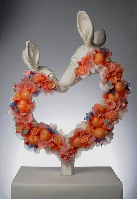 Флора из фауны, необычные скульптуры Ребекки Стивенсон (Rebecca Stevenson)