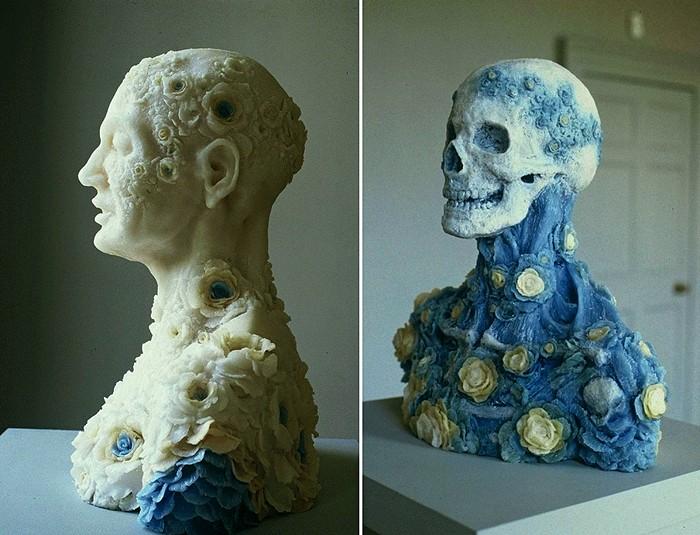 Красота, несущая смерть. Странные скульптуры Ребекки Стивенсон (Rebecca Stevenson)