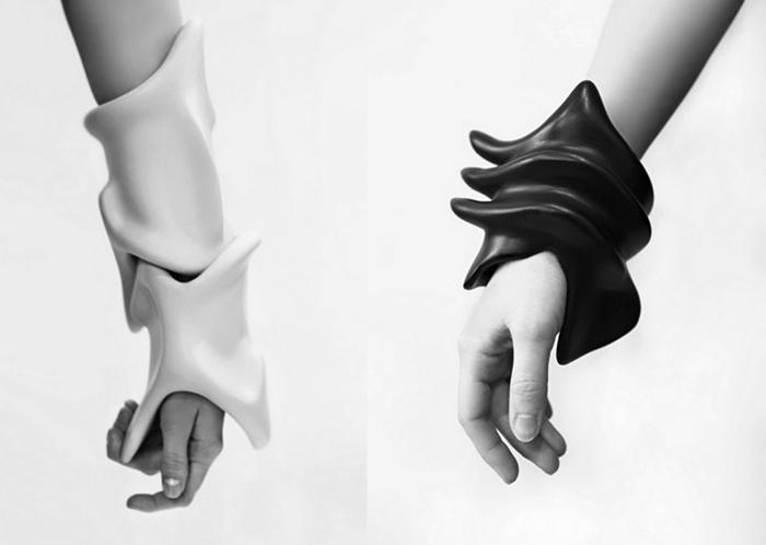 Странные украшения-скульптуры от Rein Vollenga