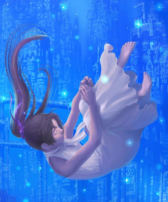 Чудесный мир фэнтези в иллюстрациях Reishin