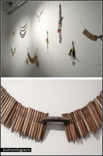 *Индейская* инсталляция Reverse Cargo от Адама Круикшанка (Adam Cruickshank)