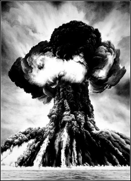 Угольные взрывы Роберта Лонго (Robert Longo)