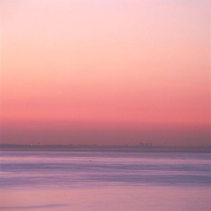 Рассвет 13 апреля в 6:30 АМ в Санта-Монике