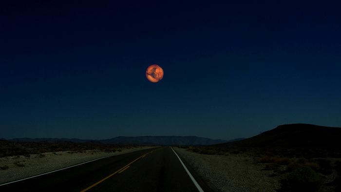 Марс вместо Луны. Космический арт-проект Рона Миллера
