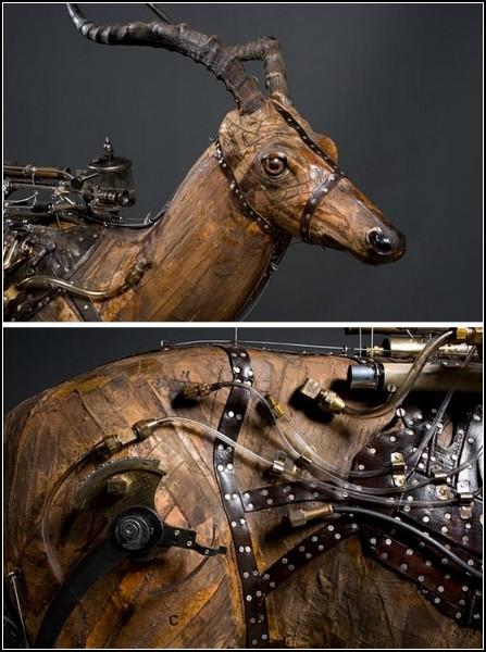 Стимпанк-скульптуры Рона Пиппина (Ron Pippin)