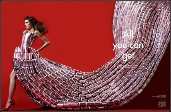 *All you can get*: платья *от-кутюр* для первого номера Virgine Magazine