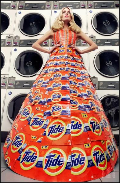 Платья *от-кутюр* для первого номера Virgine Magazine