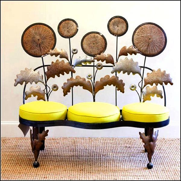 Арт-мебель из металла от Sally Bridge Metal
