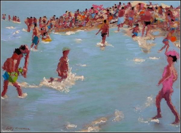 *Морские* картины Салли Трумэн (Sally Trueman)