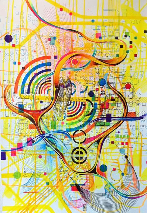Рисунок абстракция