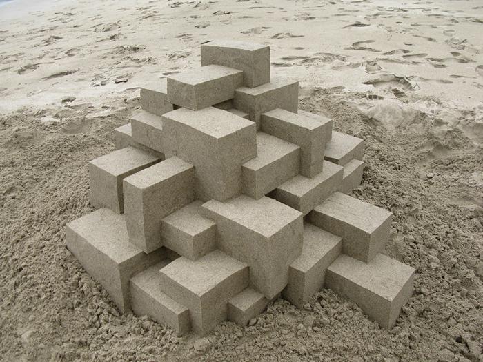 Удивительные скульптуры из песка от художника Кальвина Зайберта (Calvin Seibert)