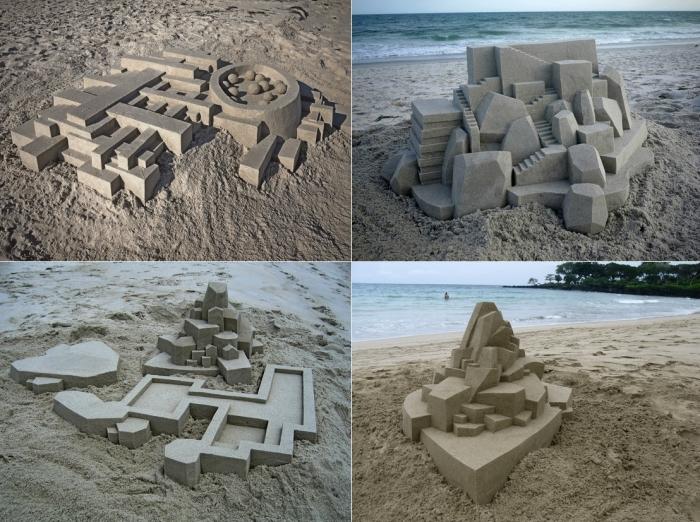 Невероятные замки из песка от Кальвина Зайберта (Calvin Seibert)