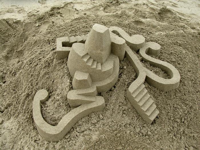Песочная архитектура Кальвина Зайберта (Calvin Seibert)